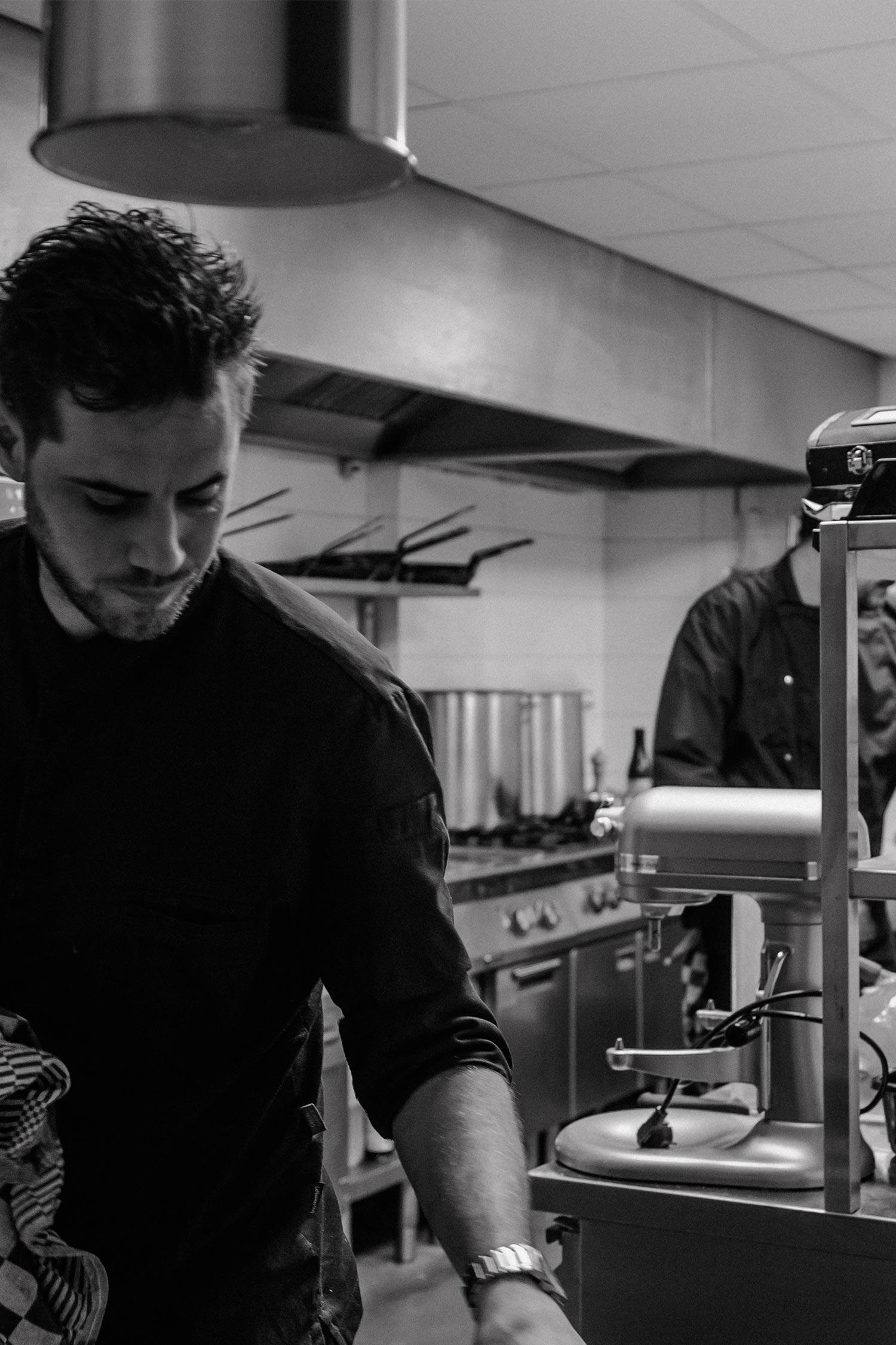 Restaurant Eden Valkenswaars Herman Cooijmans chefkok | Fotografie door Jamie de Leeuw photography